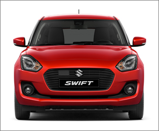 11 SWIFT exterior front white background low